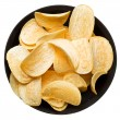 Potato chips in the bowl. — Stock Photo #70916913