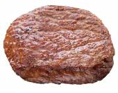 Beef steak isolated on a white background. — Stock Photo
