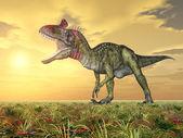 Dinosaur Cryolophosaurus — Stok fotoğraf