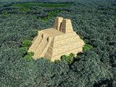 Temple of the Aztecs — Stock Photo