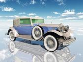 Americký automobil z třicátých let — Stock fotografie