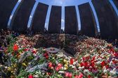 Armenian Genocide memorial complex 24 April 2015 Armenia, Yerevan — Stock Photo