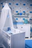 Boy's  baby room  — Stock Photo