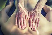 Acupuncture  massage — Стоковое фото