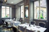Klassiek restaurant — Stockfoto