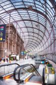 Gare de strasbourg, centralstationen i strasbourg city, — Stockfoto
