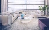 Sala de estar elegante — Foto de Stock