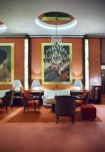 Entree hall in Amsterdam hotel  — Stock Photo