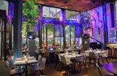 Wine bar in Amsterdam — Stockfoto