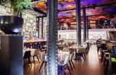 Wine bar in Amsterdam  — Stock Photo
