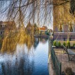 Old typical dutch village — Stock Photo #73920483