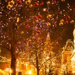 Christmas in Moscow, Russia. Red Square — Stock Photo #59822211