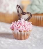 Walentynki ciastko — Zdjęcie stockowe