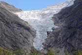Briksdal Glacier — Stock Photo