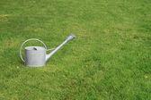 Bewässerung-Can (Bewässerung-Topf) auf dem Rasen — Stockfoto