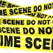 Crime Scene Do Not Cross Tape — Stock Photo #52543215