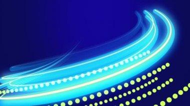 Background  curved lines — Vídeo de stock