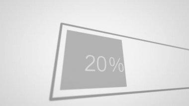 Preloaders and progress loading bars. — Stock Video