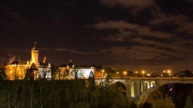Miasto Zobacz Stare Miasto Luksemburg. — Wideo stockowe