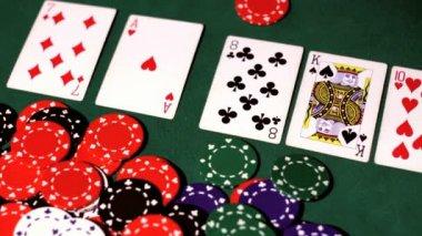 Poker. Winner — Stock Video