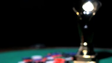 Poker's Cup — Stockvideo
