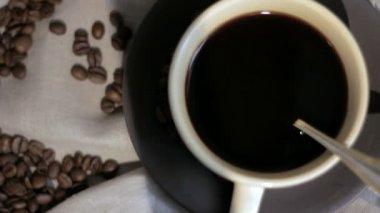 Fresh brewed Coffee. — Stock Video