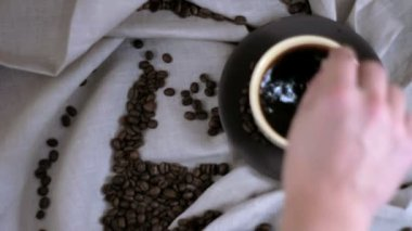 Coffee cup — Stock Video