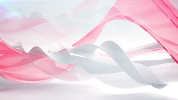 Modern Abstract Wave background. — Vidéo