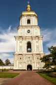 Bell tower of the Saint Sophia Cathedral — Stock Photo