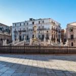 Fontana Pretoria in Palermo, Sicily, Italy — Stock Photo #56900579