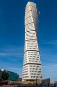 Turning Torso in Malmo, Sweden — Stock Photo