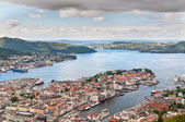 View of Bergen — Stock Photo