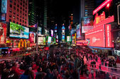 Times Square New York City — Stock Photo