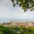 Постер, плакат: View of Roseau capital of Dominica