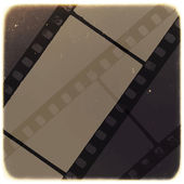 Old Filmstrip Abstract Background — Stock Vector