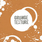 Grunge texture template with stains — Stockvektor
