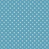 Blue Textured Polka Dot — Vector de stock