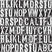 Letterpress seamless background — Vector de stock
