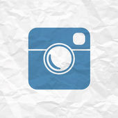 Hipster Photo Icon — Stock Vector