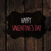 Valentines inscription background — Vecteur