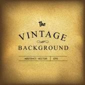 Golden vintage background. — Stock Vector