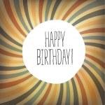 Happy Birthday Text — Stock Vector #72043023