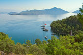 Bay Sarsala in Turkey — Stock Photo