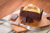 Torta all'arancia — Foto Stock