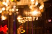 Lamp in interior — Stock Photo