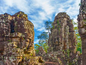 Angkor thom, kambodža — Stock fotografie