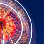 Big wheel at night — Stock Photo #69375191