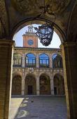 Palazzo dell'Archiginnasio — Stock Photo