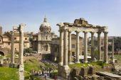 Rome. Forum Romanum. Septimius Severus — Stock Photo
