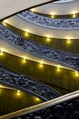 Famous staircase, Vatican Museum — Stock Photo